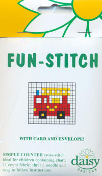 Fire Engine Daisy Designs Fun Stitch Card Kits