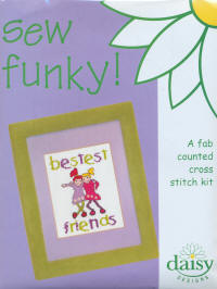 Bestest Friends Daisy Designs Sew Funky Kits
