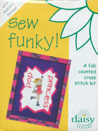Pop Princess Metallic Daisy Designs Sew Funky Kits