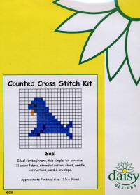 Seal Daisy Designs Fun Stitch Card Kits