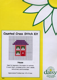 House Daisy Designs Fun Stitch Card Kits