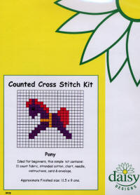 Pony Daisy Designs Fun Stitch Card Kits