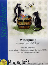 Cat at Waterpump