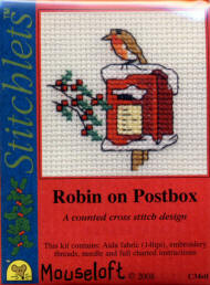 Robin on Postbox