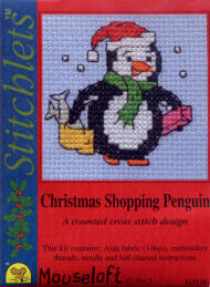 Christmas Shopping Penguin
