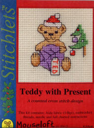 Teddy with Present