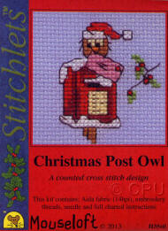 Christmas Post Owl