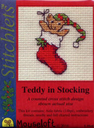 Teddy in Stocking