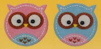 Kleiber Mini Felt Kits - Owls - click to see packaging