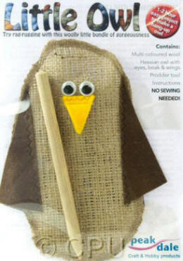 Rag Rugging Kits - Little Owl