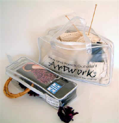 Artwork Knitting Kits by Jane and Patrick Gottelier