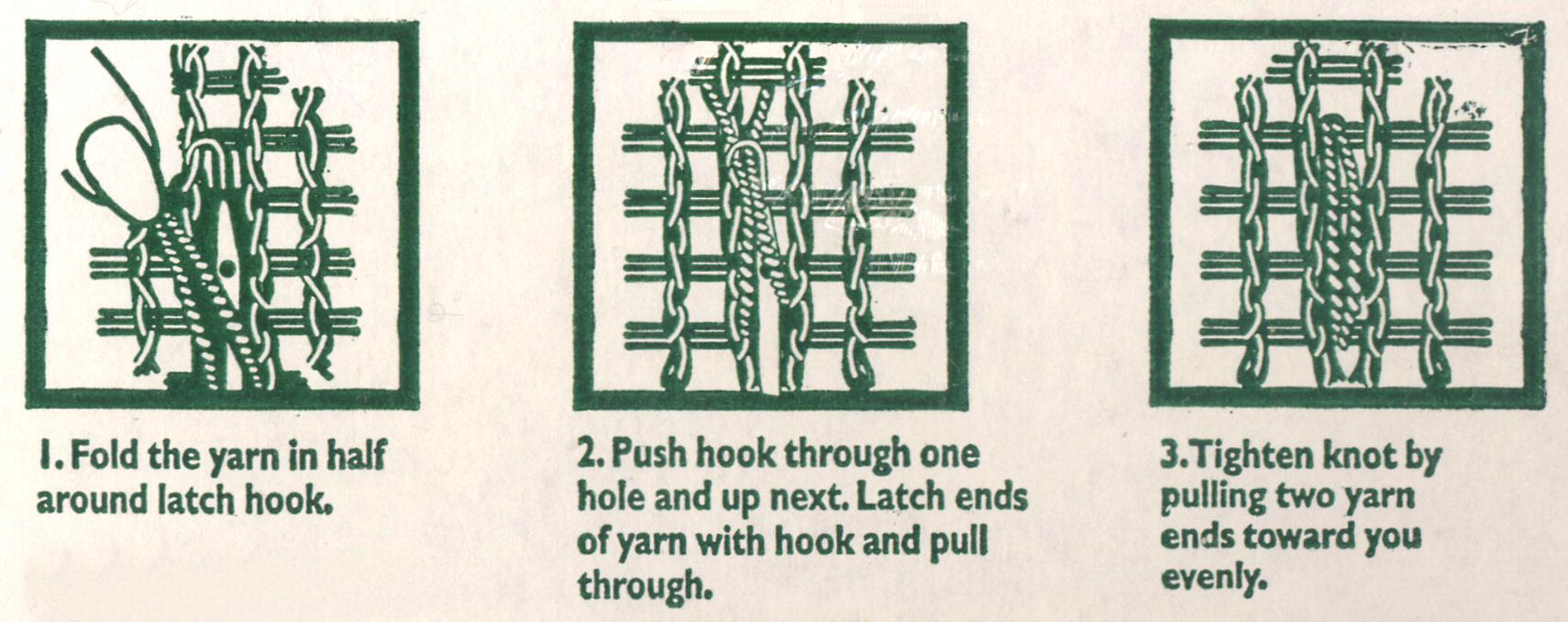 How to Hook a Rug