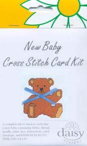 Daisy Designs New Baby Card Kit