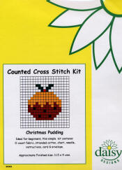 Daisy Designs Fun Stitch Xmas Card Kits