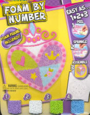 Foam by Number Kits Princess