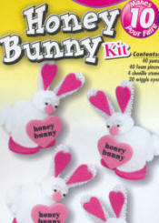 Pompom Kits - Honey Bunny