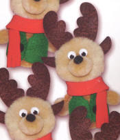 Finger Puppet Ornament Kits