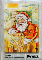 Printed Christmas Cross Stitch Cards